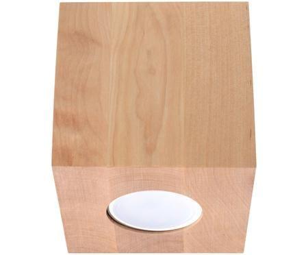 Deckenspot Geo aus Holz