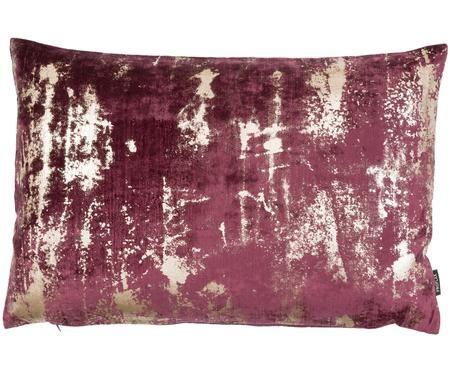 Samt-Kissenhülle Shiny mit schimmerndem Vintage Muster