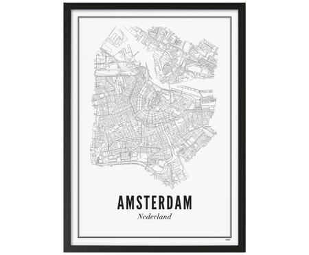 Gerahmter Digitaldruck Amsterdam
