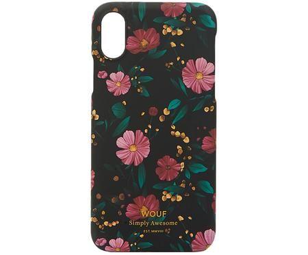 Telefoonhoesje met bloemenpatroon voor iPhone X