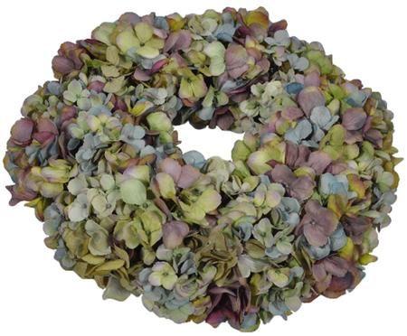 Corona di fiori artificiali ortensia Malwina