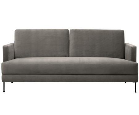 Samt-Sofa Fluente (3-Sitzer)