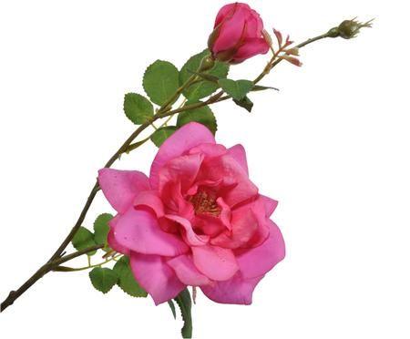 Flor artificial rosa Malina