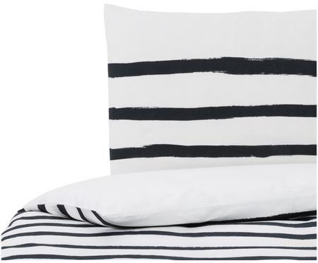 Dubbelzijdig dekbedovertrek Stripes