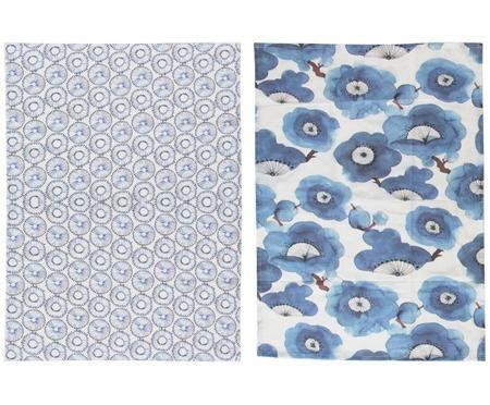 Čajové ručníky Dandelion, 2díly
