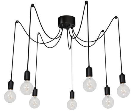 Lámpara de techo Spindel, negro