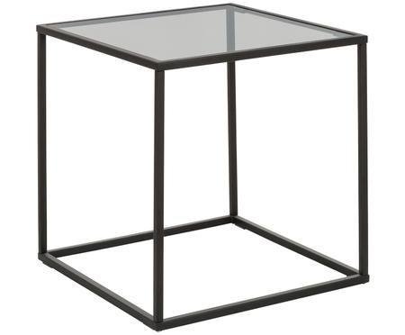 Tavolino Maya con piano in vetro
