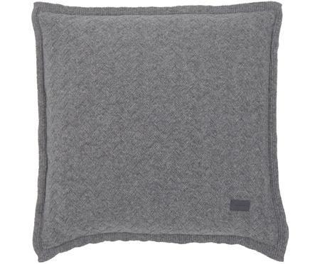 Pletený povlak na polštář Fishbone