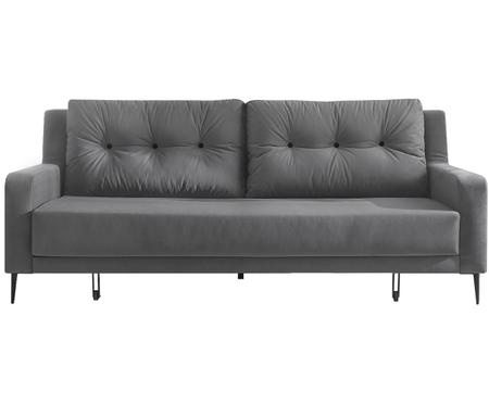 Sofá cama de terciopelo Bergen (3plazas)