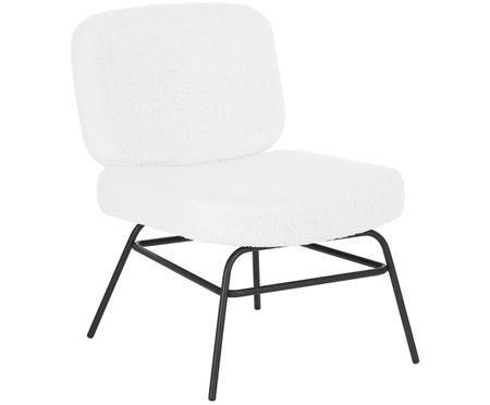 Teddy-gestoffeerde stoel Malte