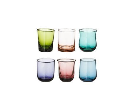 Set de vasos de chupito de vidrio soplado Desigual, 6pzas.