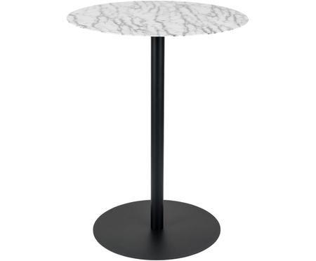 Runder Bistro-Tisch Snow aus Metall