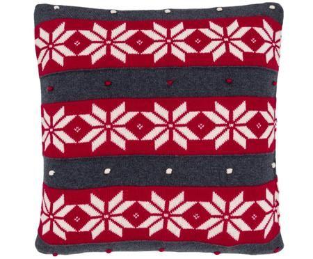 Federa natalizia con cucitura a maglia Snowflake