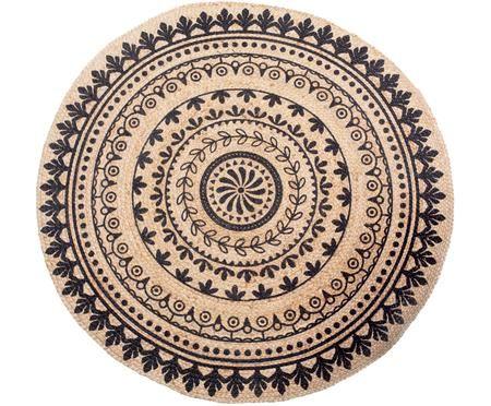 Jutový koberec Escambia
