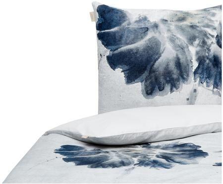 Dwustronna poszewka na poduszkę z bawełny renforcé Nature Blooms