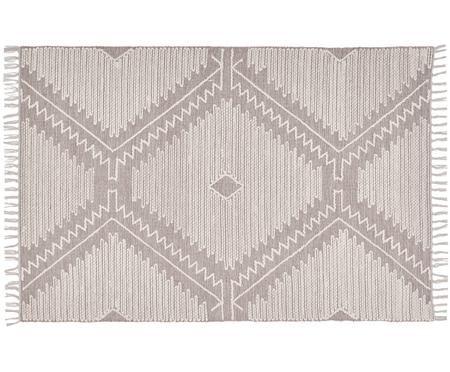 Handgewebter Teppich Karola