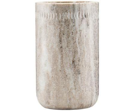 Uchwyt na sztućce kuchenne z marmuru Marble