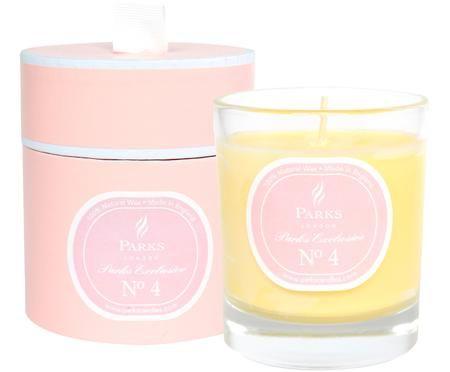 Vela perfumada Exclusive No 4 (pasiflora y vainilla)