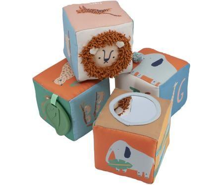Stapelwürfel-Set Wildlife, 4-tlg.