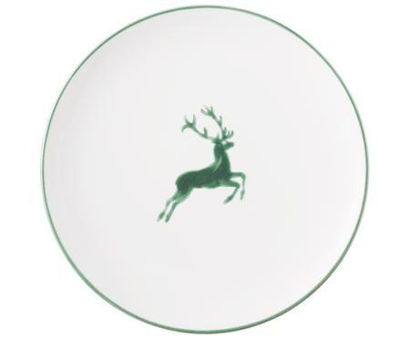 Dinerbord Classic Groene Hert