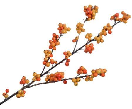 Fiore artificiale ramo di bacca Betta