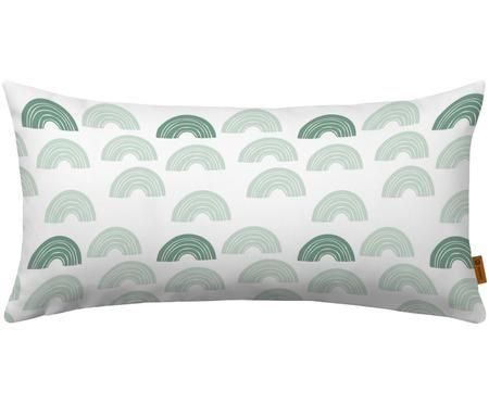 Kissen Regenbogenträume aus Bio-Baumwolle, mit Inlett