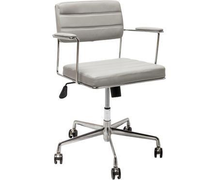 Kancelářská otočná židle zimitace kůže Dottore