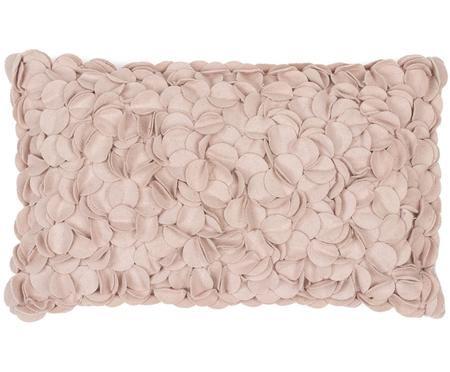 Cuscino in feltro di lana Bed of Roses
