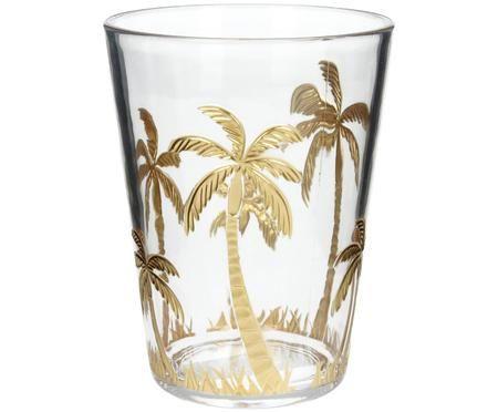 Szklanka do wody z akrylu Kimberly