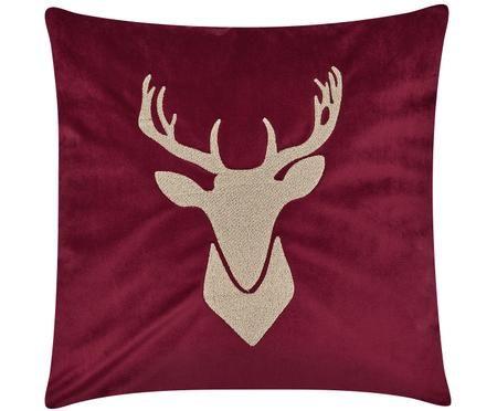 Funda de cojín de terciopelo Deer