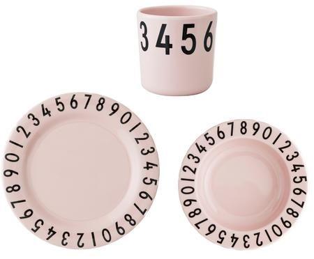 Ontbijtset Numbers, 3-tlg