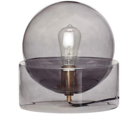 Stolní lampa ze skla Glondy