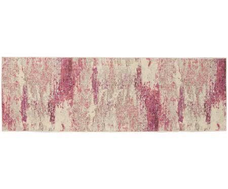 Design loper Celestial in roze-beige