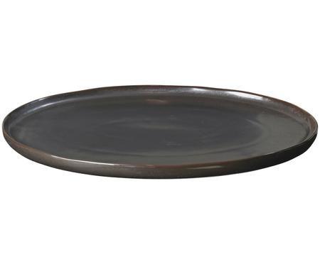 Ručně vyráběný servírovací talíř Esrum Night