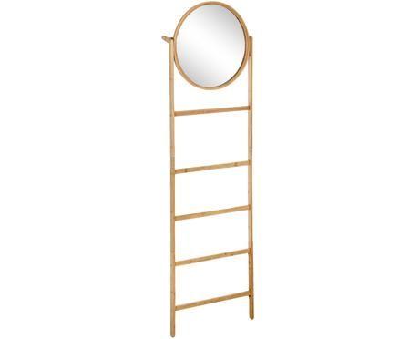 Žebříkový regál se zrcadlem Audrey