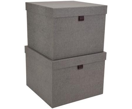Set scatole custodia Tristan, 2 pz.