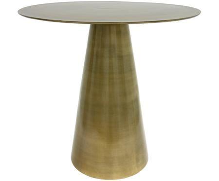 Tavolino rotondo in ottone Saar