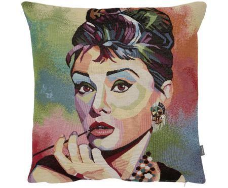 Housse de coussin Audrey Hepburn