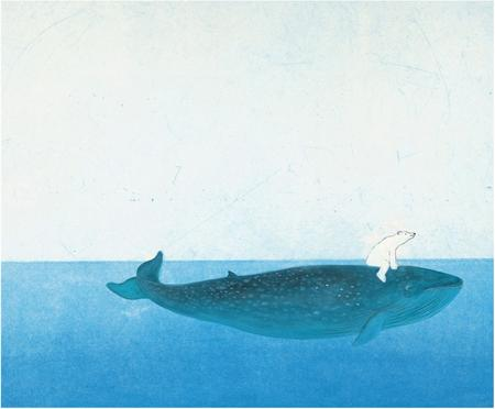 Fototapete Riding the Whale
