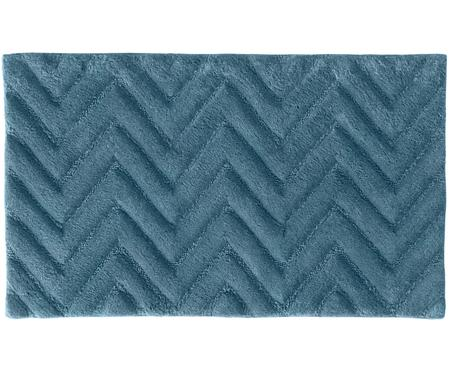 Flauschiger Badteppich Arild in Blau