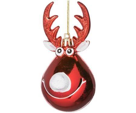 Decorazioni per l'albero di Natale Rudolph, 2 pz.