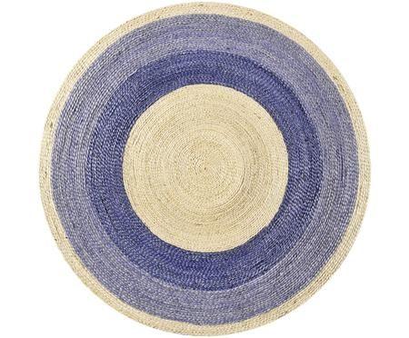 Ručně tkaný oboustranný koberec z juty Beach House