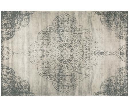 Ručně tkaný žinylkový koberec ve stylu vintage Noa