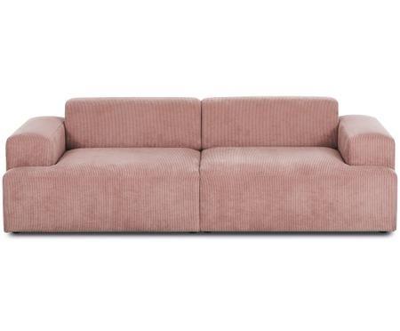 Sofá de pana Marshmallow (3plazas)