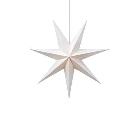 Stella di Natale luminosa di carta Duva