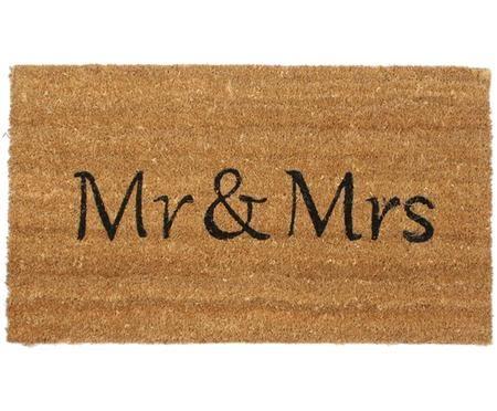 Paillasson Mr & Mrs
