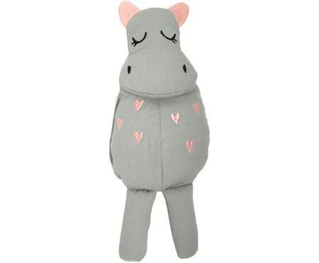 Kuscheltier Hippo aus Bio-Baumwolle