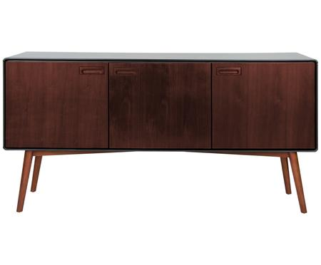 Retro Sideboard Juju mit Walnussfurnier