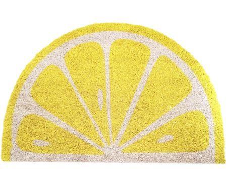 Fußmatte Lemon