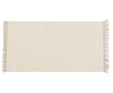 Ručně tkaný vlněný koberec střásněmi Rainbow